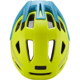 Cratoni Maxster Pro Helmet Kids lime/blue matte